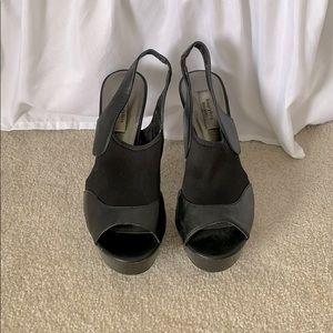 Vera Wang Black High Heels